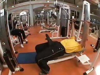 Erection in the Gym