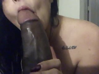 Big Tits Shemale Guy Fucks Shemale Shemale Hd Videos video: Shemale sucks black cock