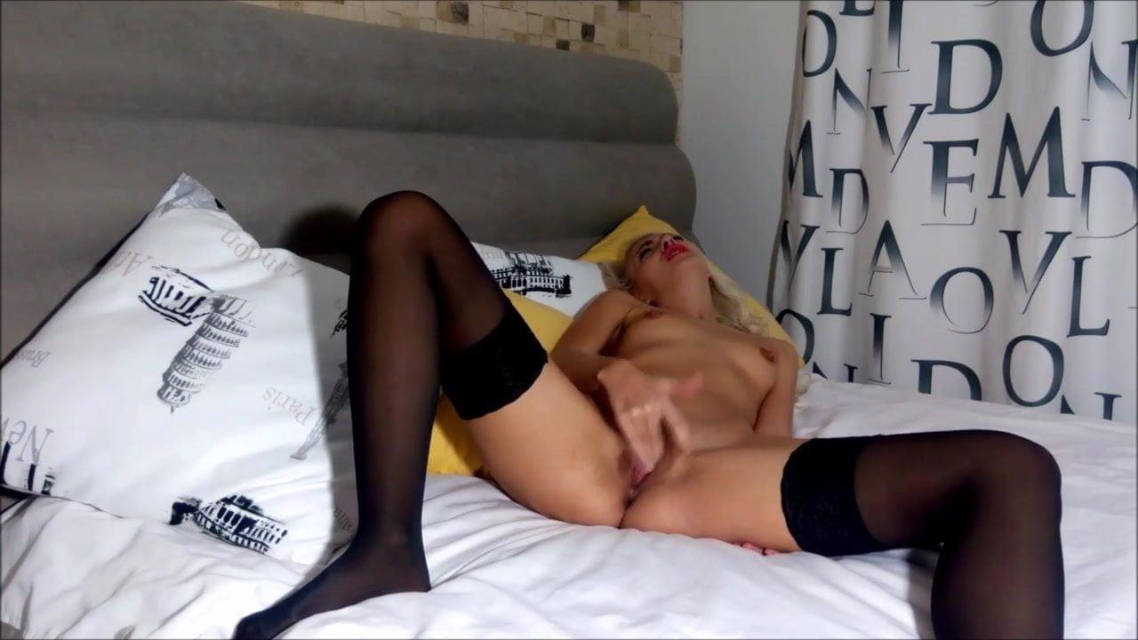Sexy Blonde Lesbian Teacher