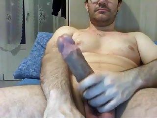 Str8 guy cock cums a lot 16...