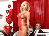 Hot Tasha Reign share cock with a lesbian