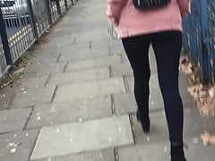 Sexy Fuckdoll walking home (North London) White sugar