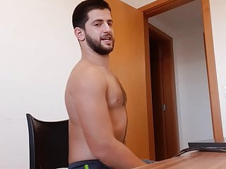 Dirty talk – hung straight hairy male