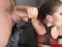 nasty whore gets gang banged. drinks cum and her squirt fromfree full porn