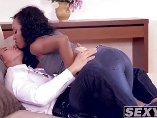 Horny calls over his sexy to pound her...