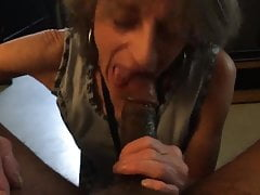 Mature White Slim Gilf Pays her Dick Lord a Visit. BBC Nympho