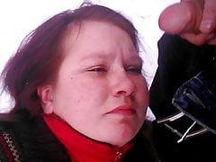 Russian hooker facial 9