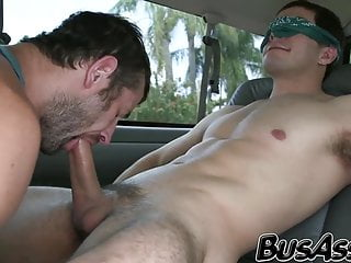 Straight dude invited to the bang bus to...