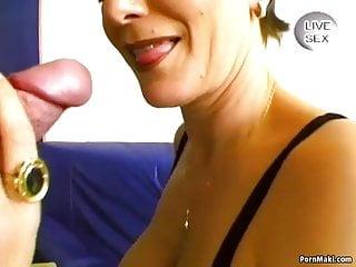 Piercing sucks cock...