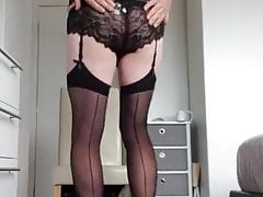 Sissy Fuckbox - Unveiled Sissy Seducing Sissy Striptease